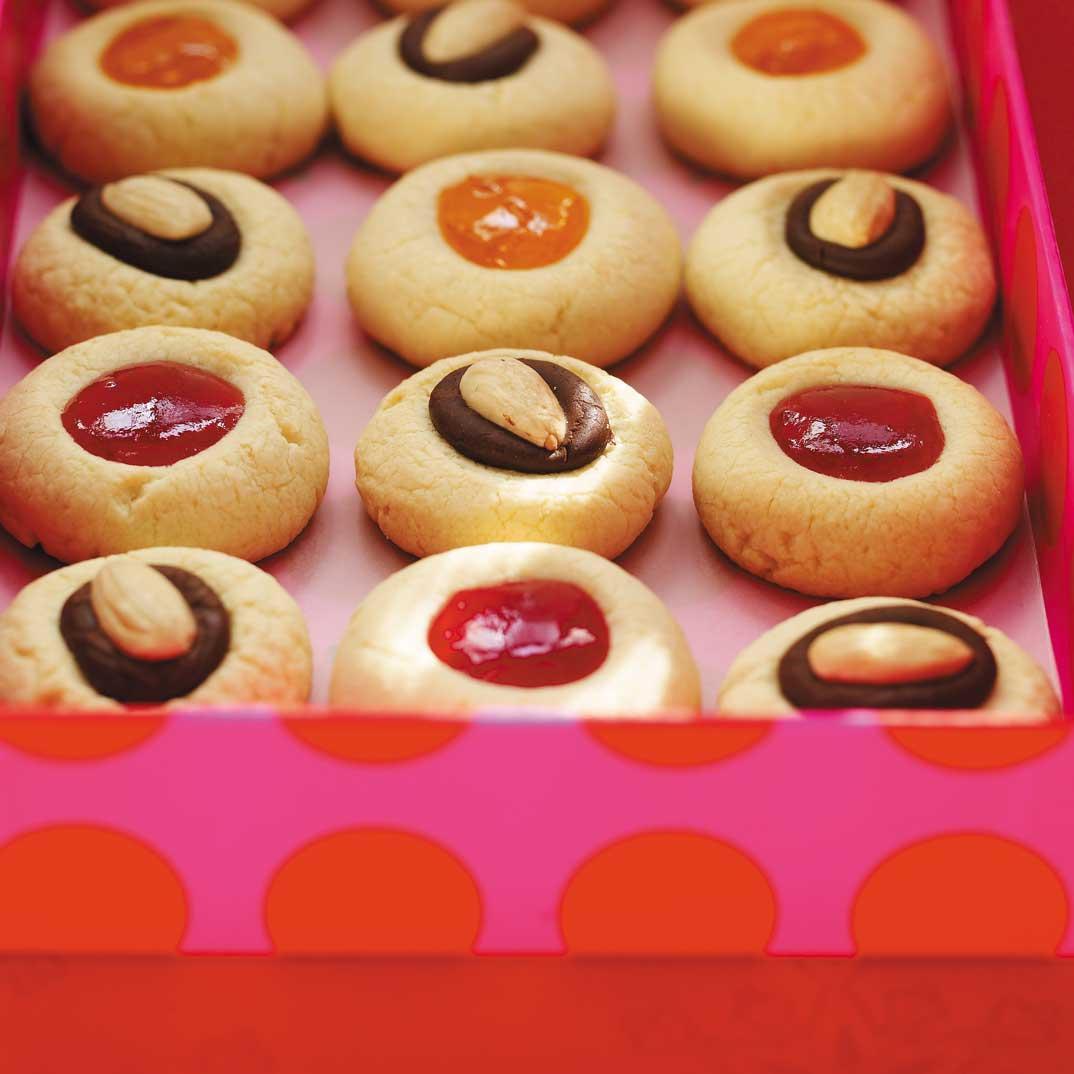 Biscuits Clin D Oeil Au Chocolat Et Aux Amandes Ricardo