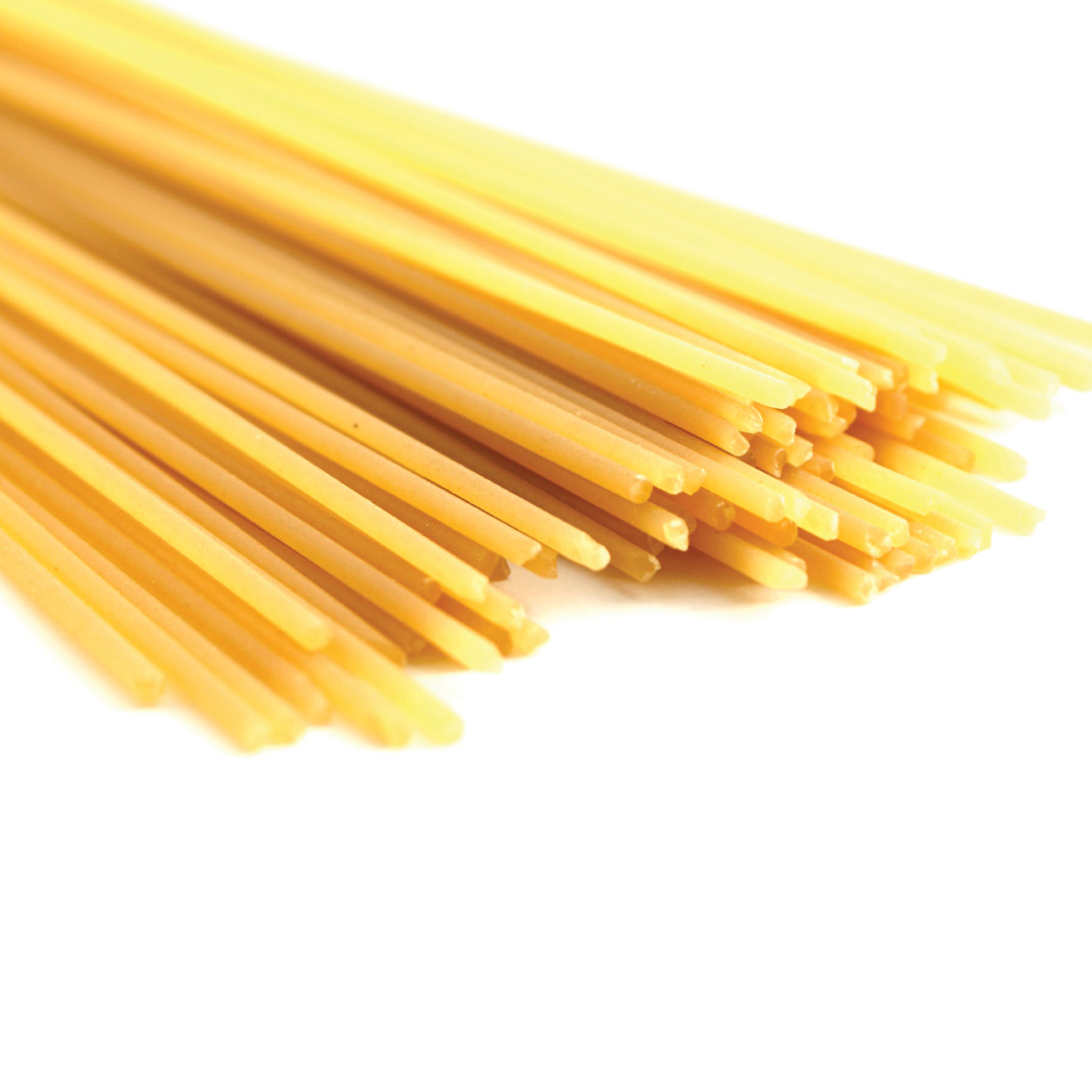 Spaghettini carbonara version santé