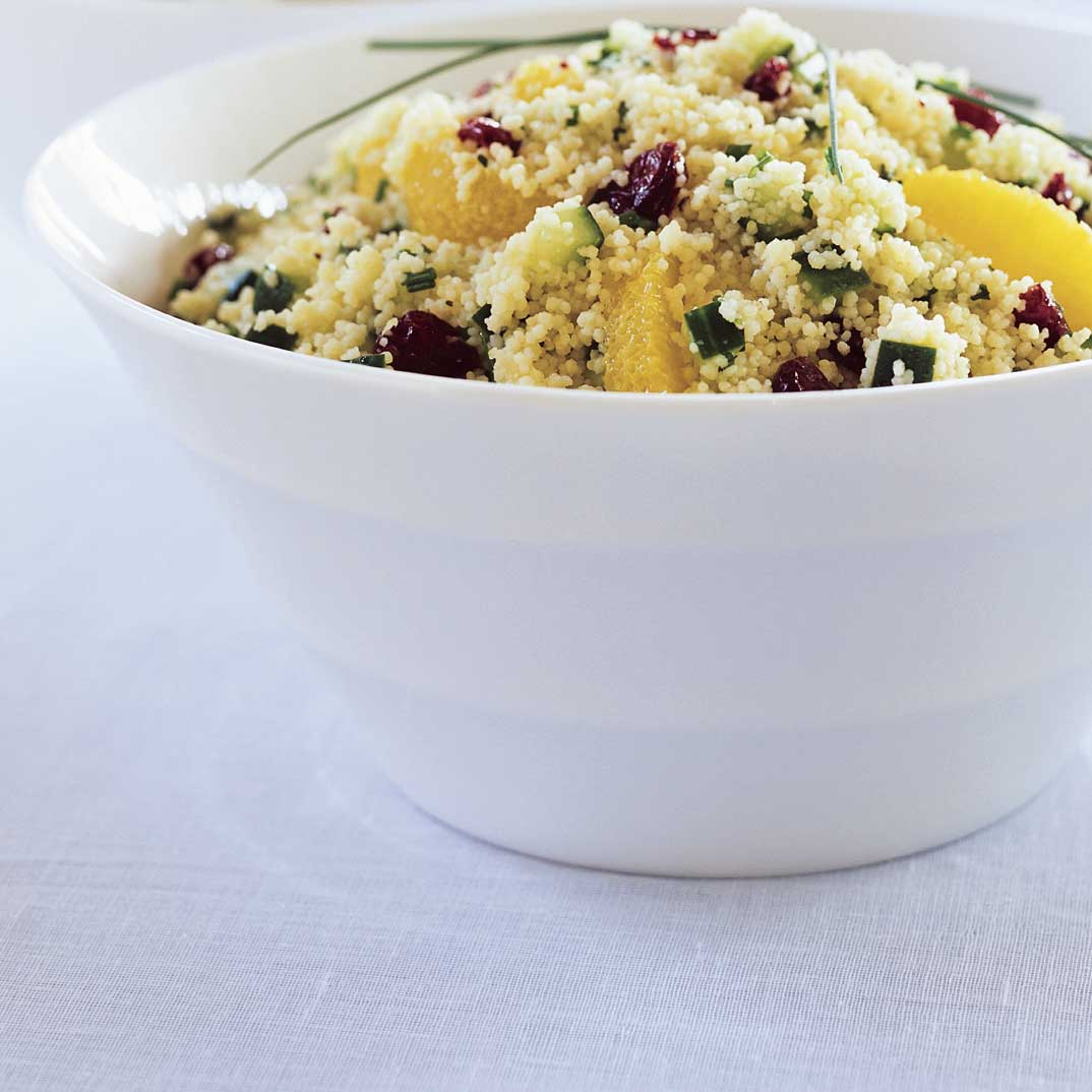 Cranberry and Orange Couscous Salad