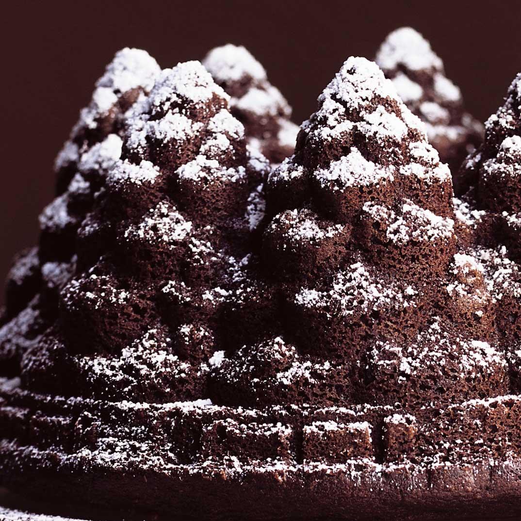 Gâteau « sapin » au chocolat