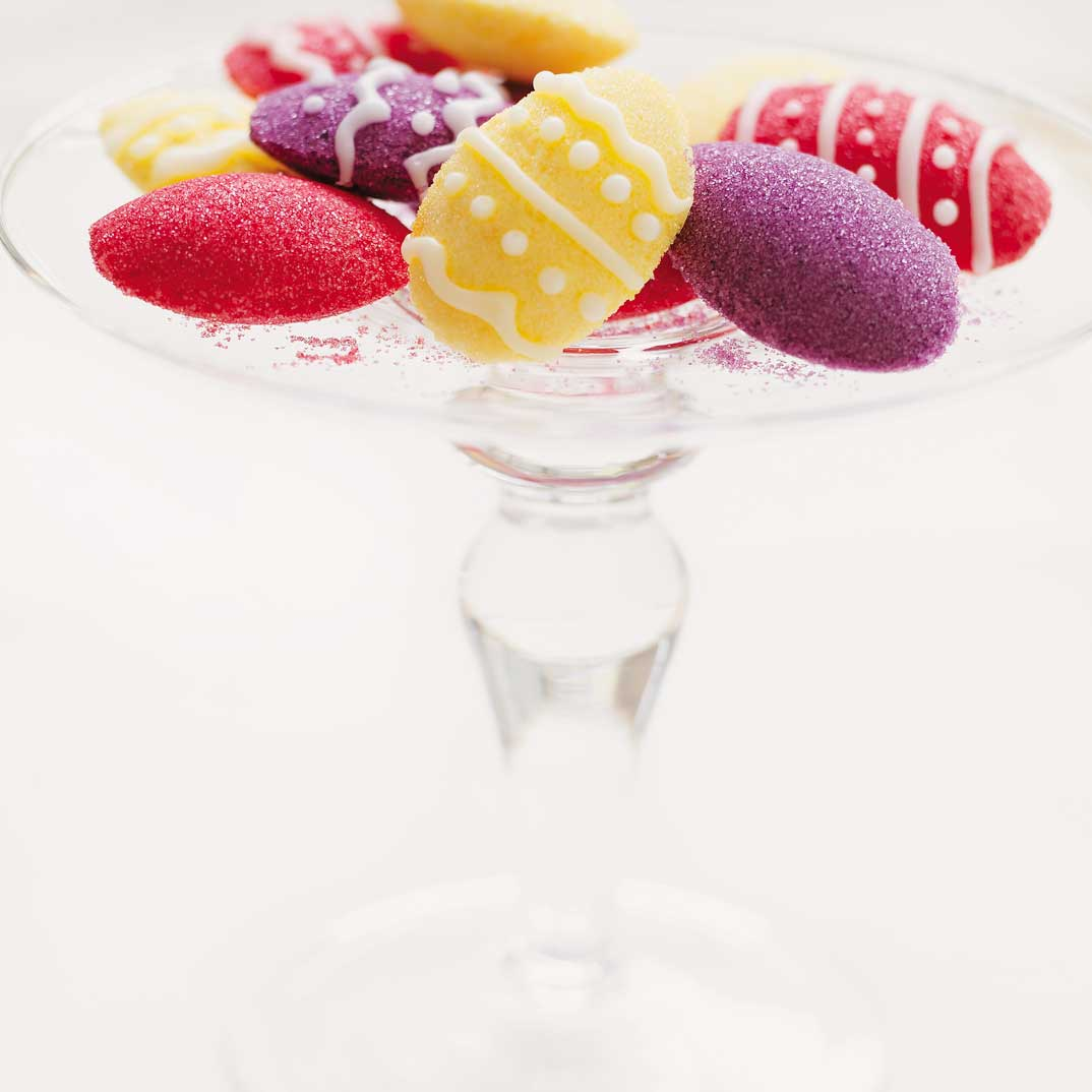 Colourful Moulded Sugars