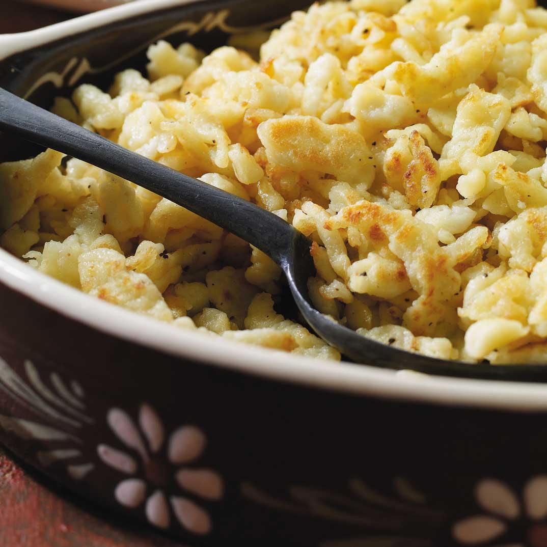Spaetzle (fresh noodles)