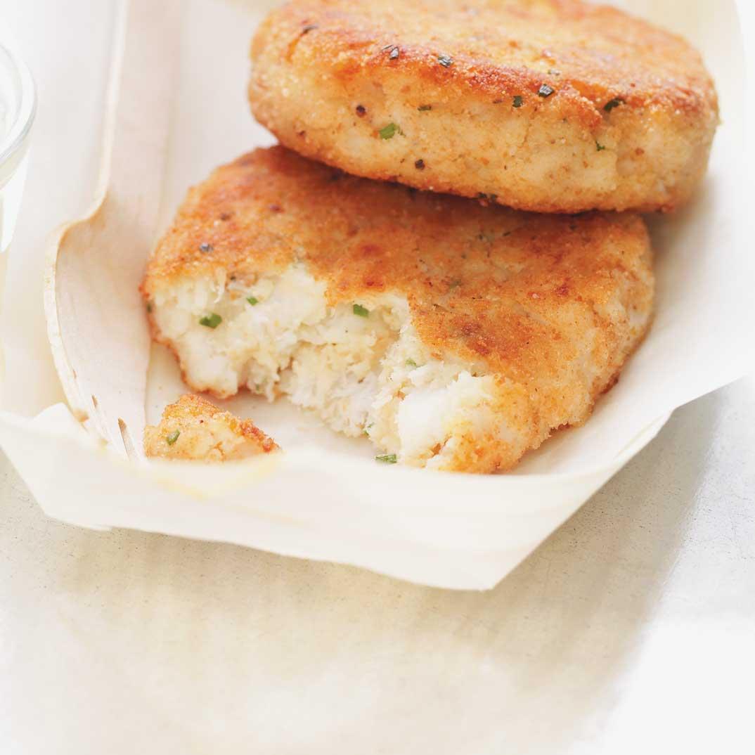 Galettes de poissons Fishcakes