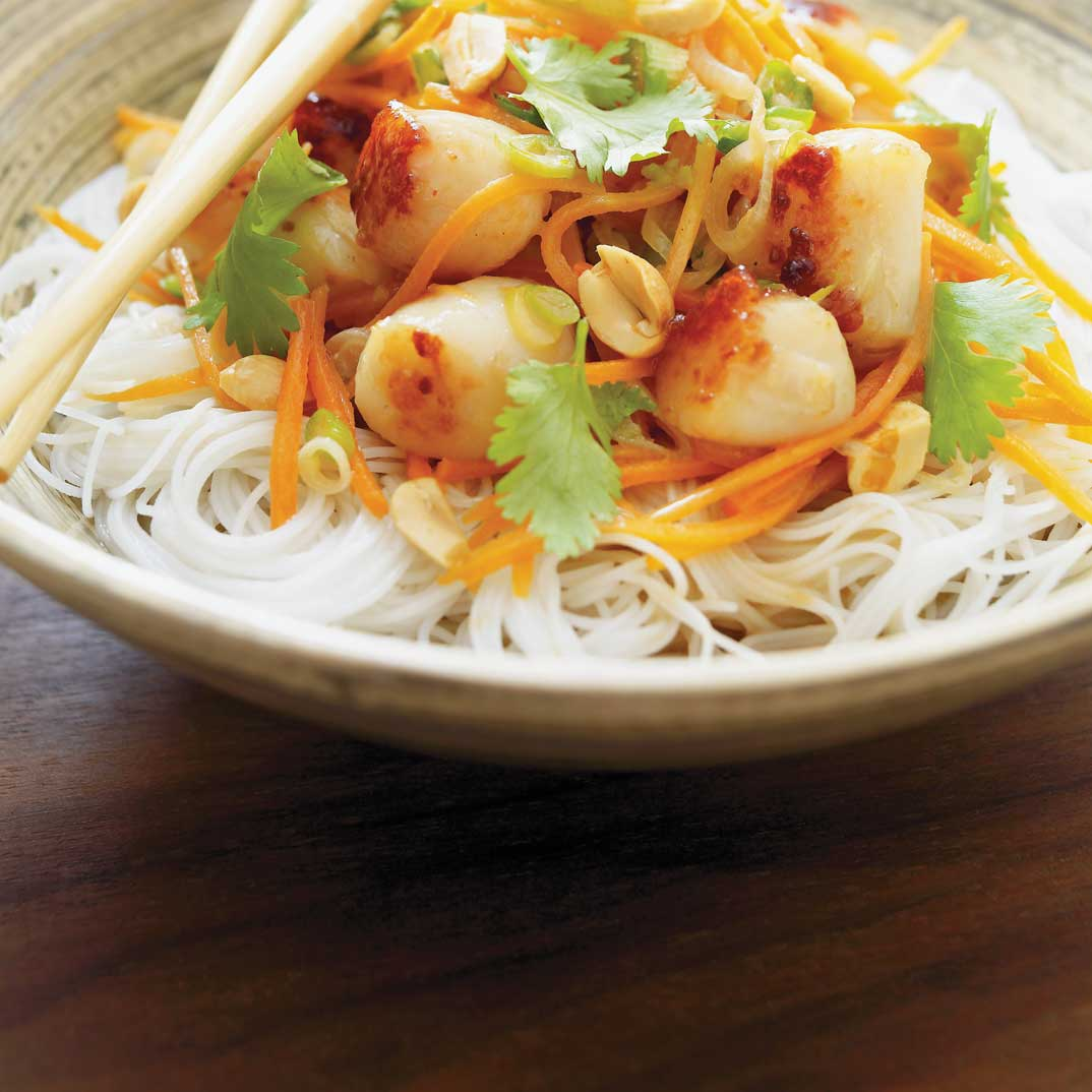 Vietnamese Stir-Fried Scallops