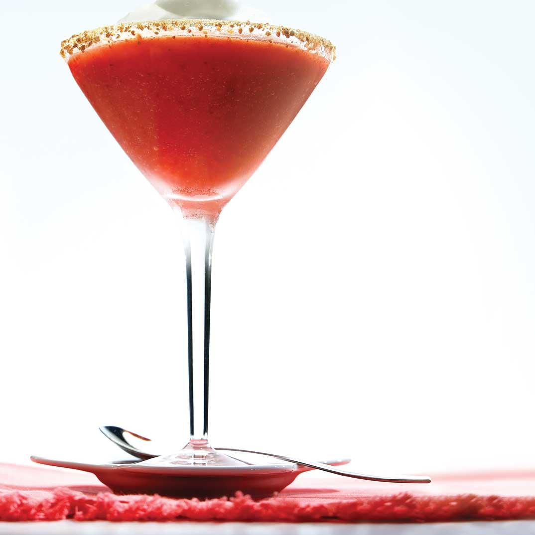 Cocktail shortcake aux fraises