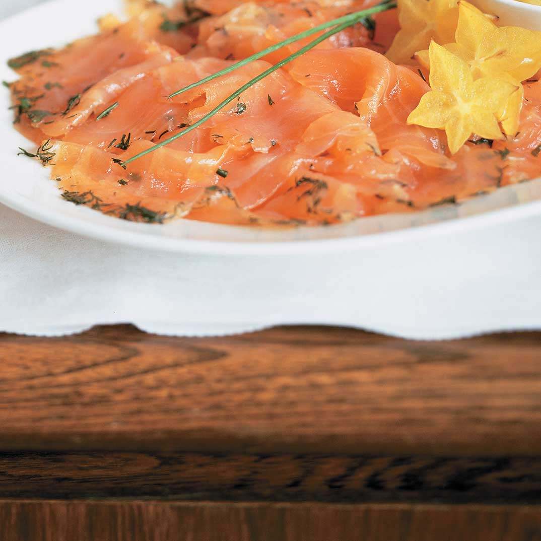 Whiskey Marinated Salmon