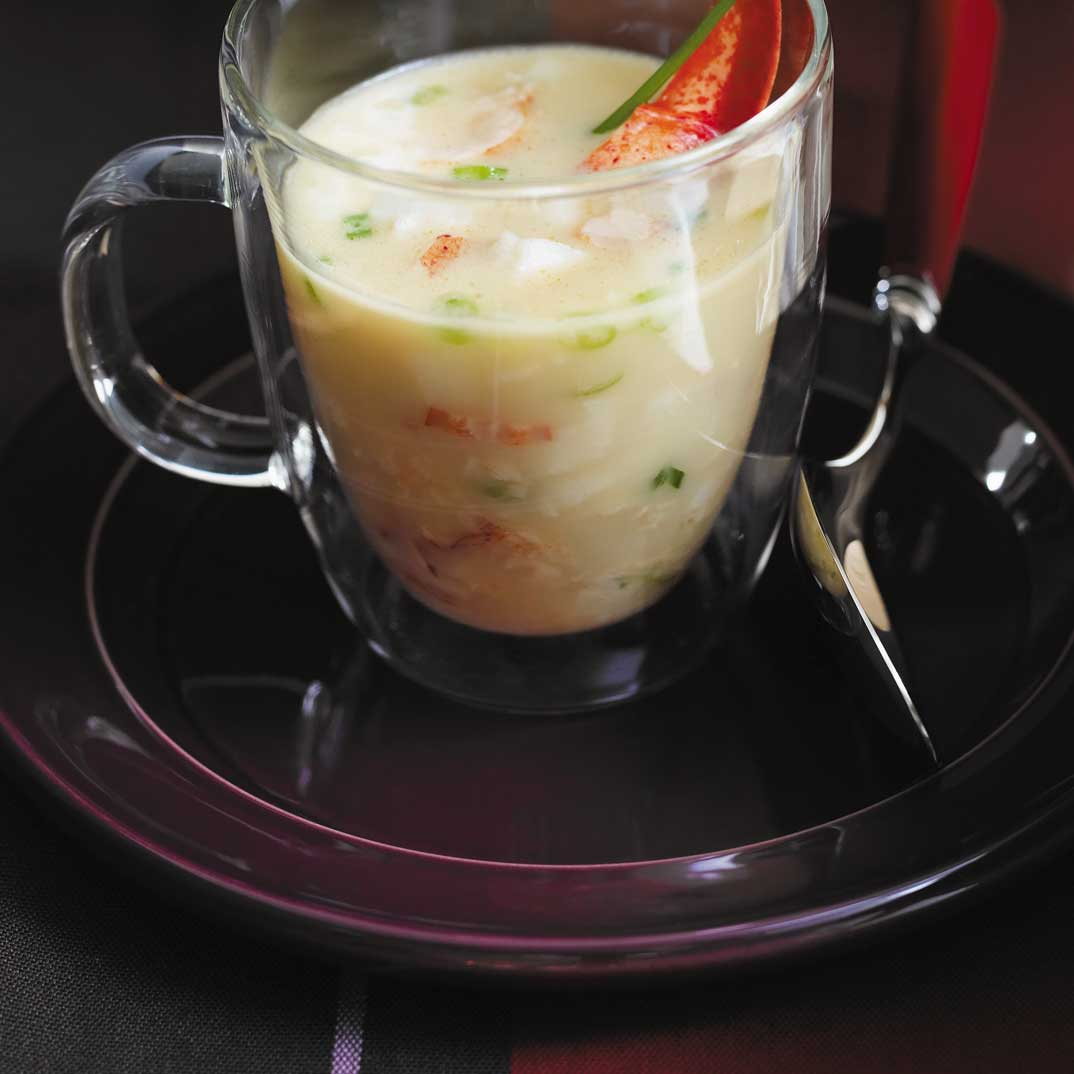 Lobster and White Chocolate Soup