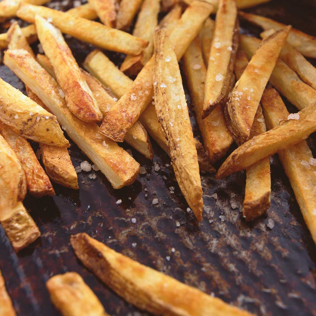Oven Fries with Olive Oil