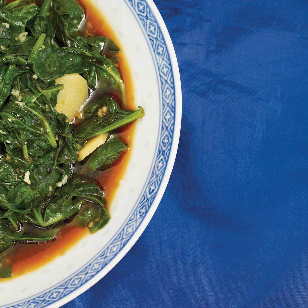 Sautéed Spinach with Garlic