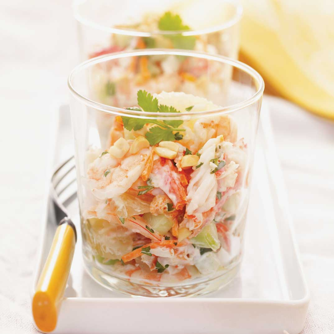 Pomelo and Spicy Crab Salad