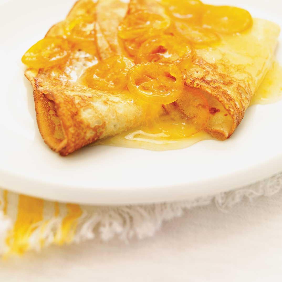 Kumquats confits en sirop