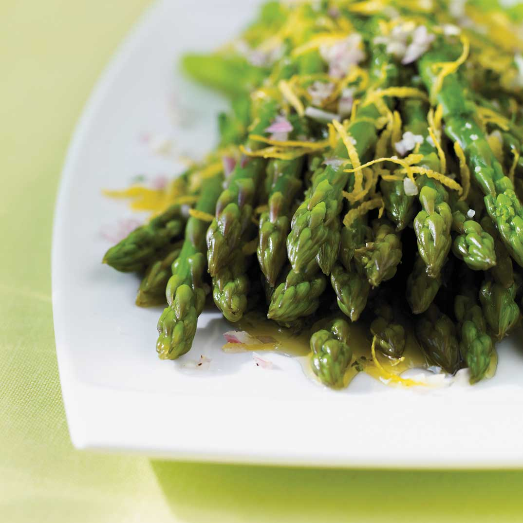 Asparagus with Lemon Gremolata