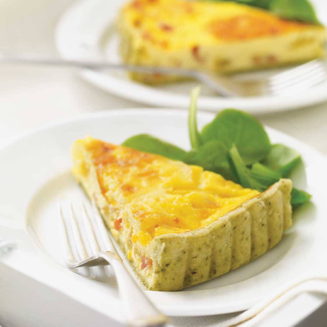 Yellow Tomato Quiche