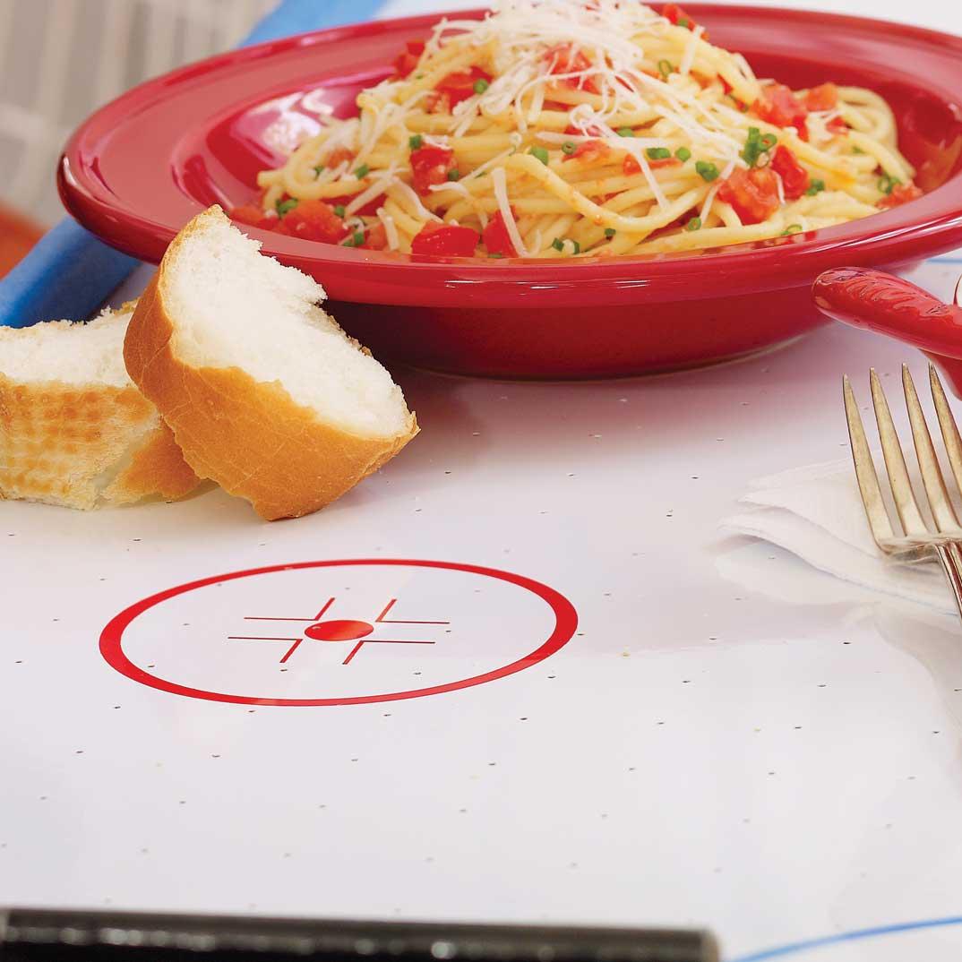 Spaghettis à l'ail et aux tomates fraîches