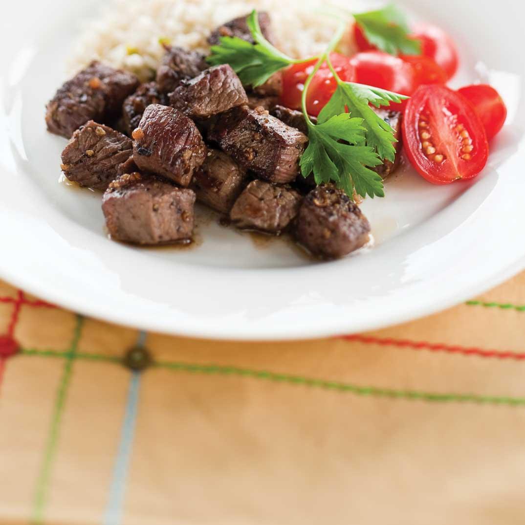 Philippe's Beef Stir-Fry