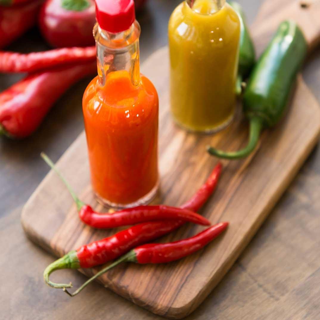 Sauce aux piments (de type sauce Tabasco)