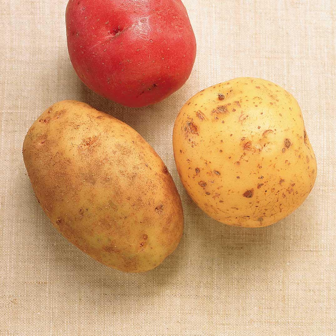 Potato and Rosette de Lyon Gratin