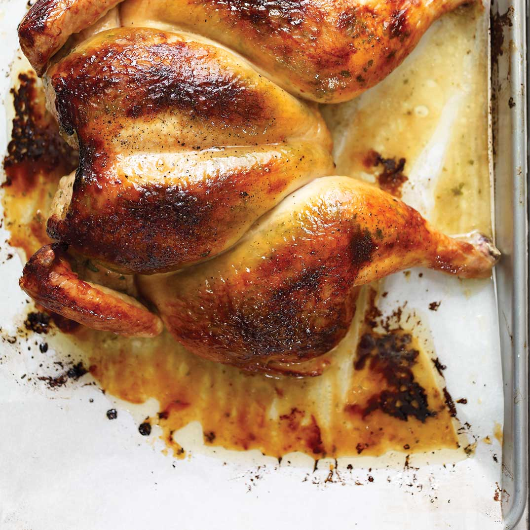 Roasted Chicken with Marmalade
