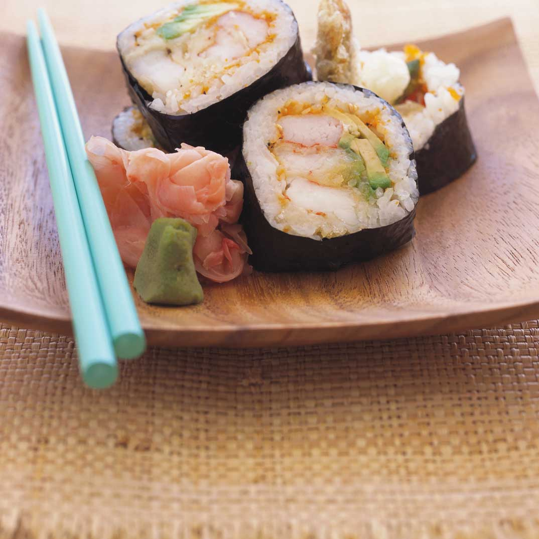 Makis au tempura