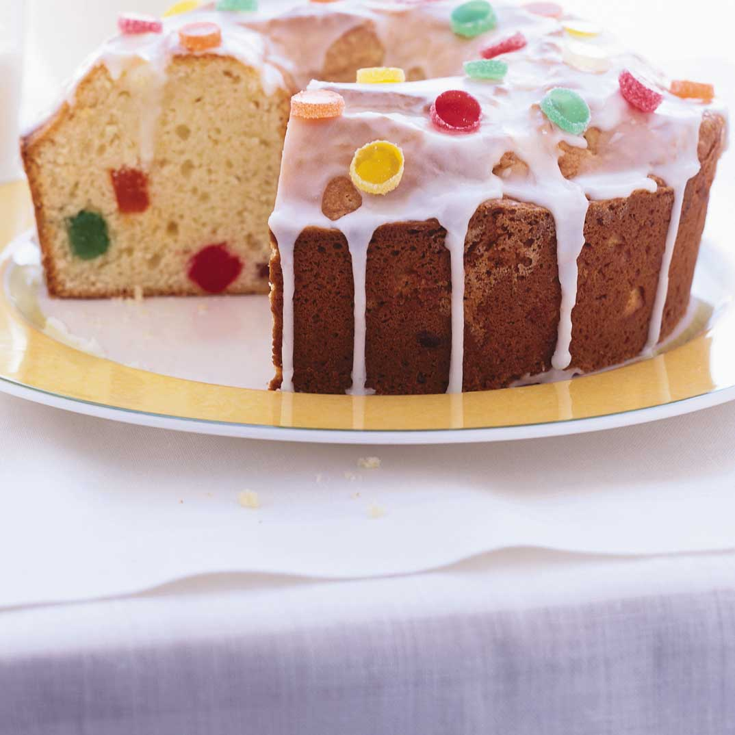 Jujubes Candy Cake