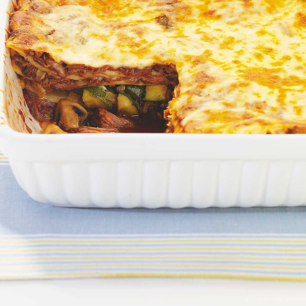 Lasagne au boeuf braisé