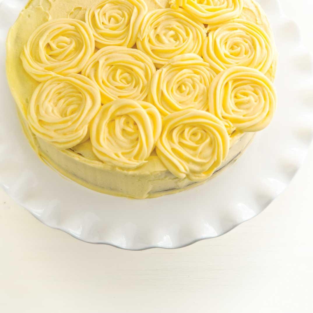Glaçage au beurre au citron