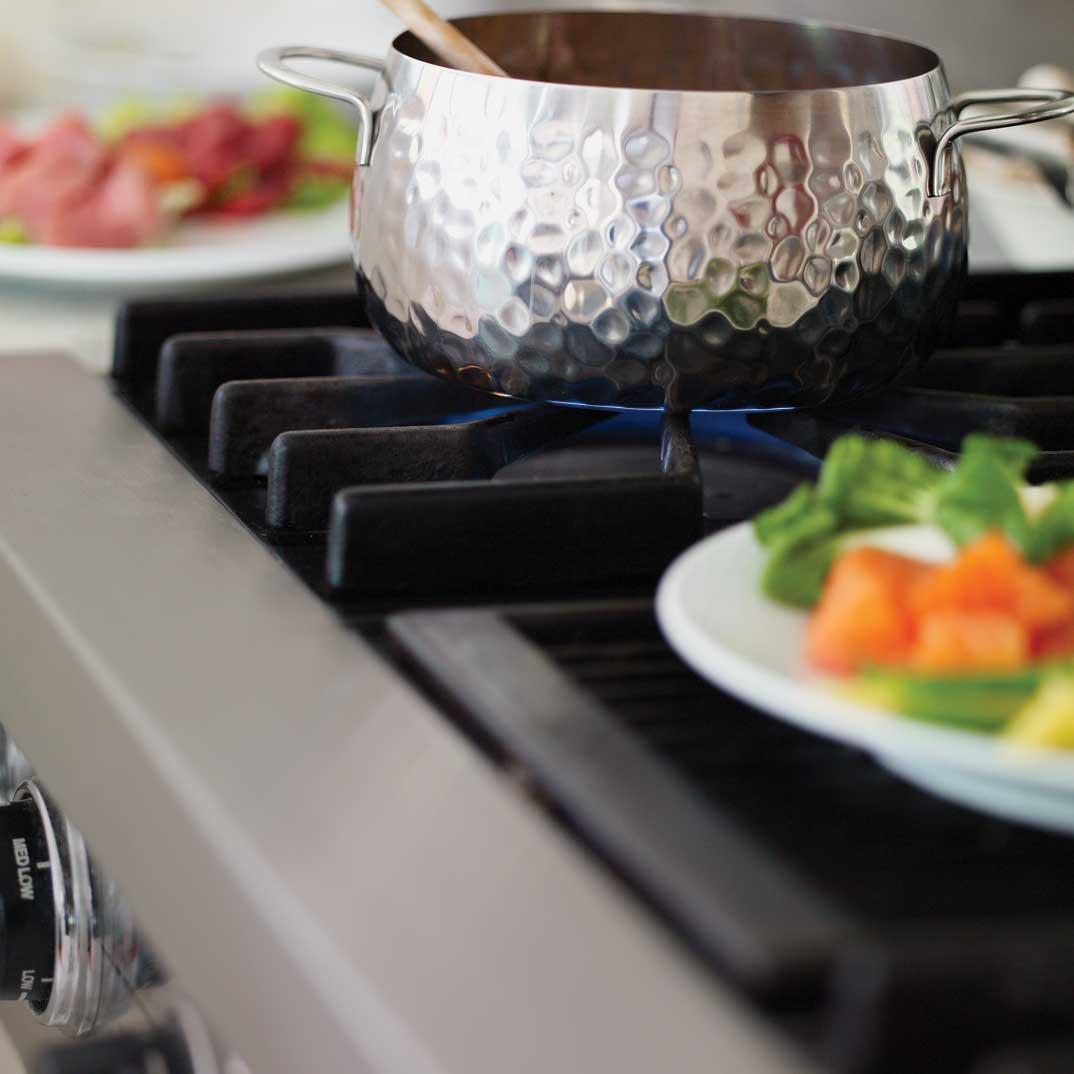 Soupe tonkinoise à l'italienne (pour les restes de viande à fondue)