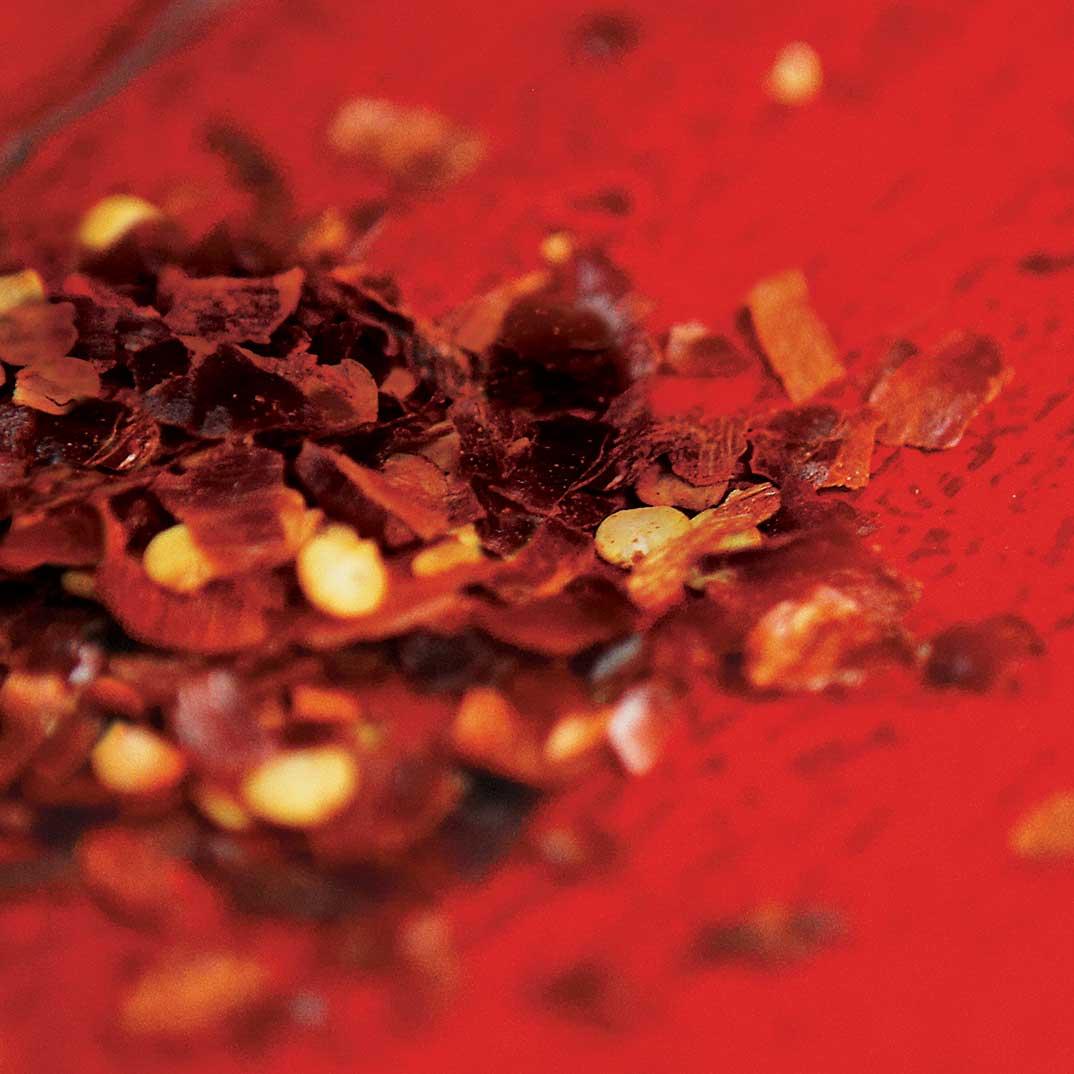 Pâte de piment forts de type sambal oelek