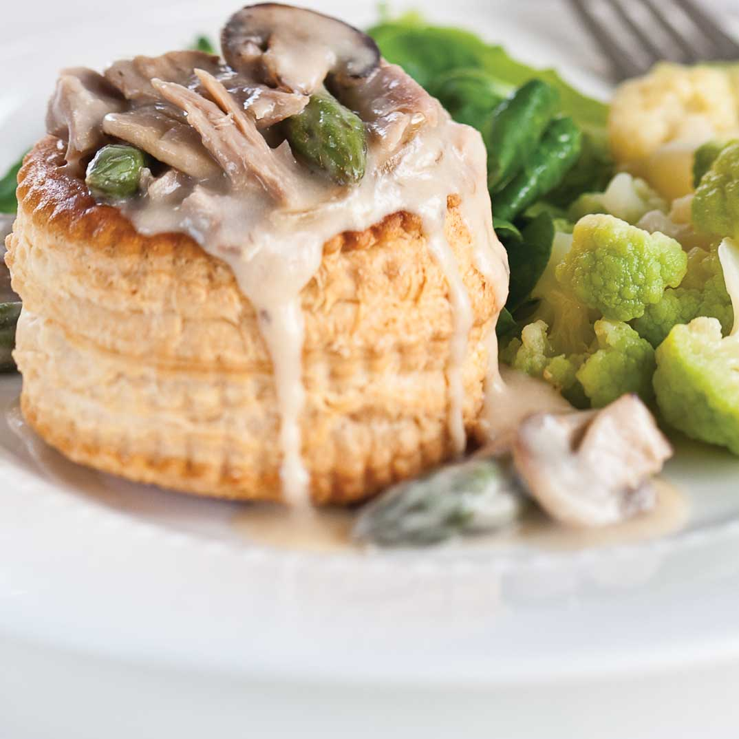 Mushroom And Duck Vol Au Vent Ricardo