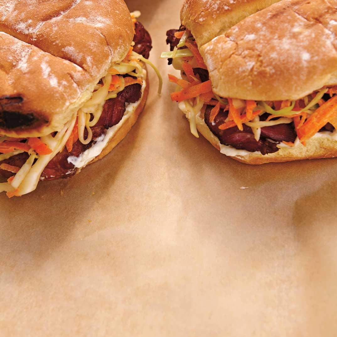 Smoked Chicken Burgers