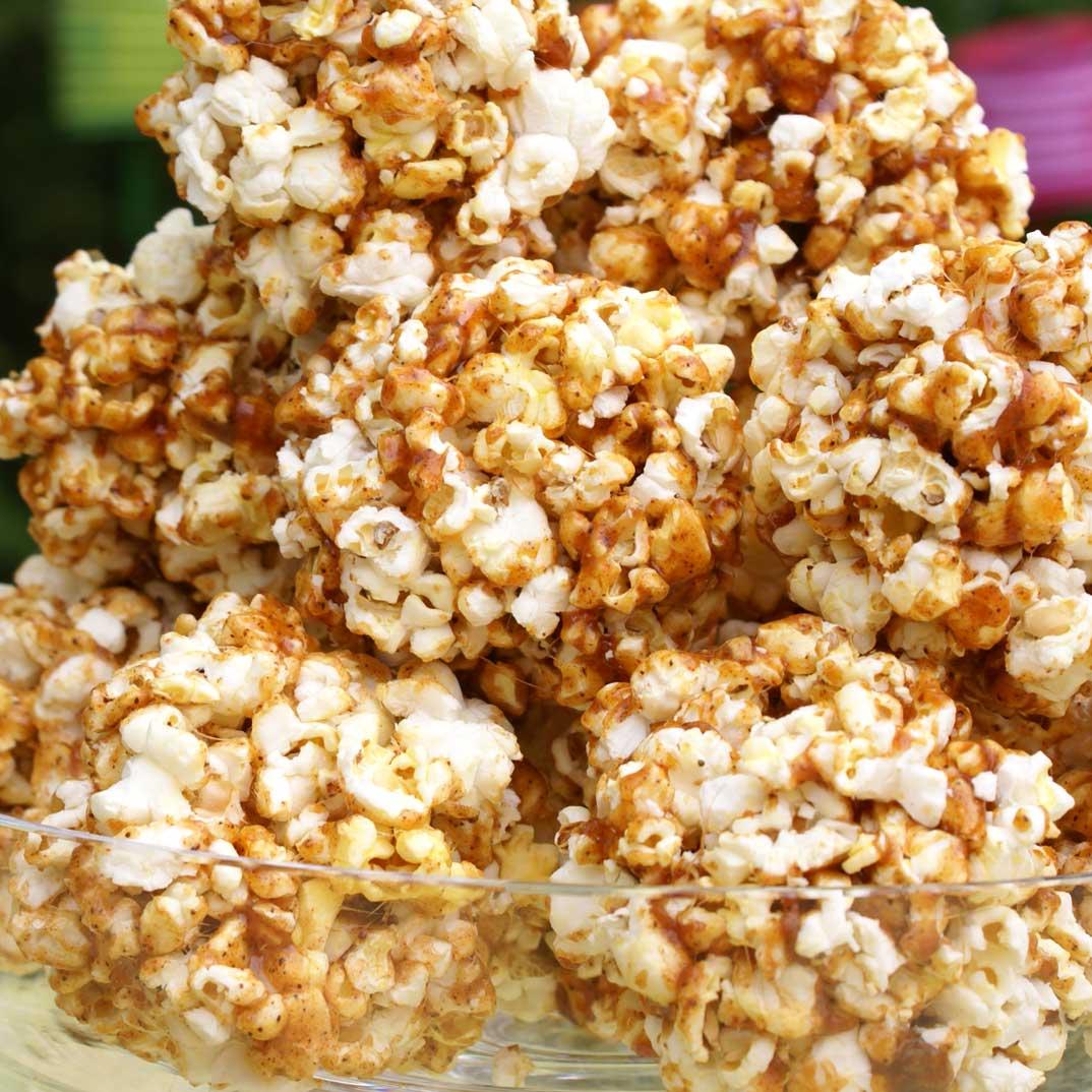 BBQ Popcorn Cakes