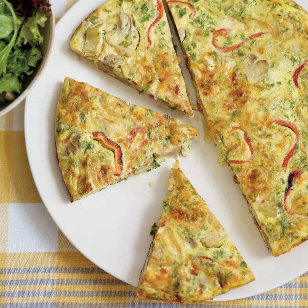 Pickled Vegetable Frittata