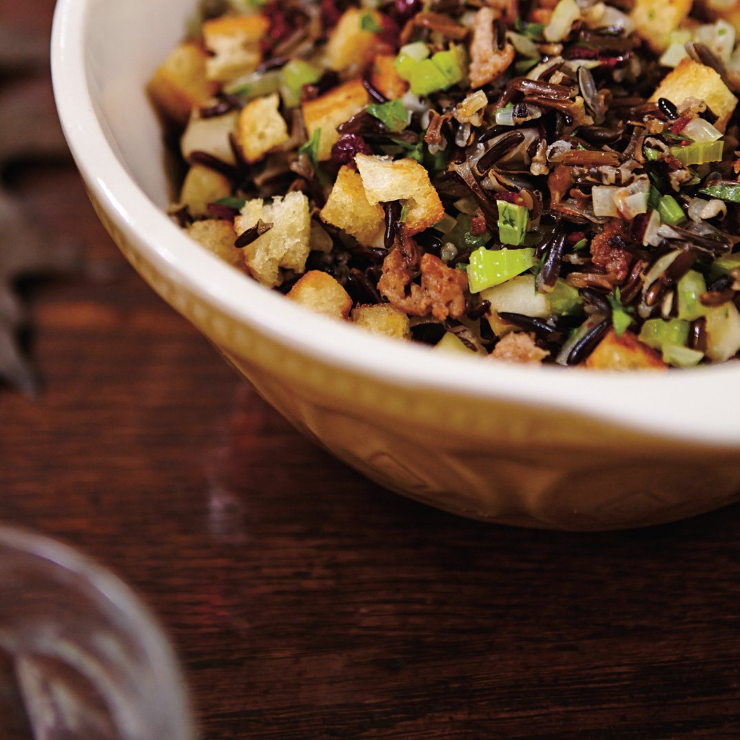 Wild Rice, Apple and Cranberry Stove-Top Stuffing