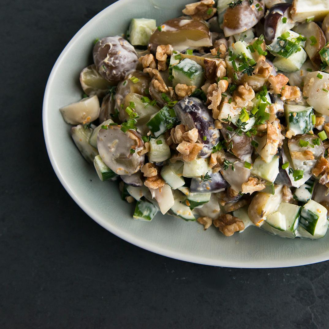 Salade de pommes de terre et de topinambours