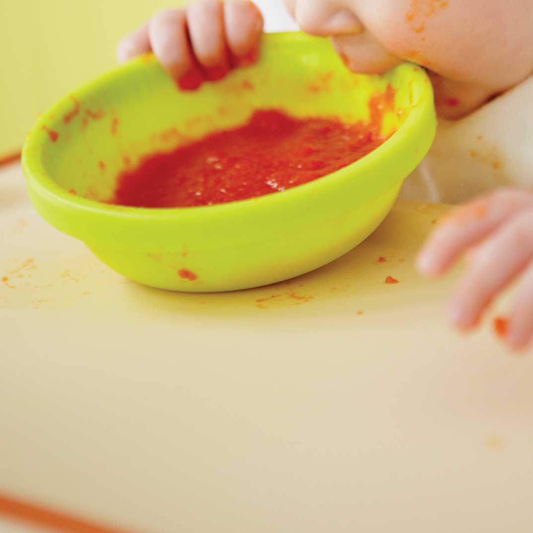 Red Bell Pepper Puree (baby food)