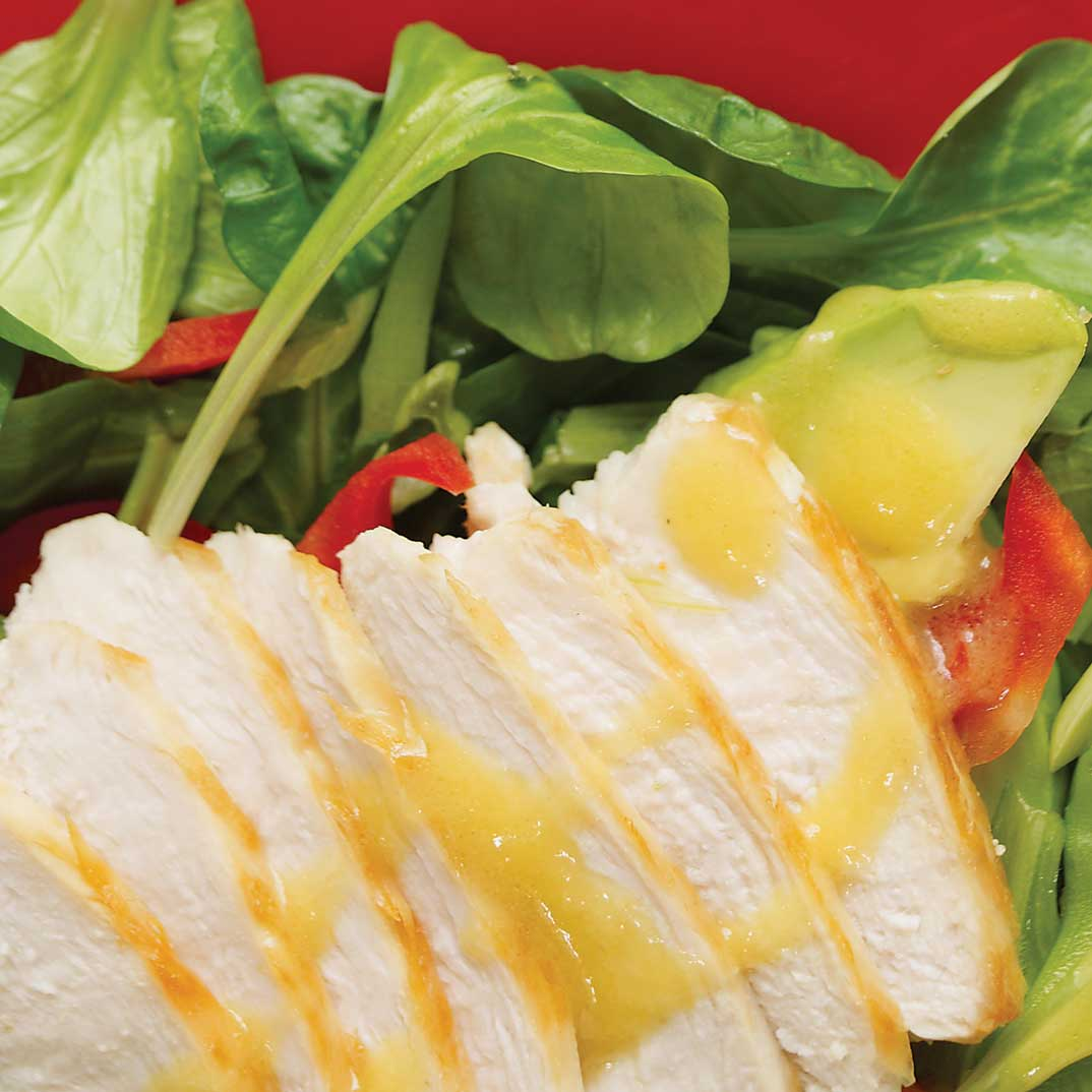 Chicken Salad With Mango Dressing