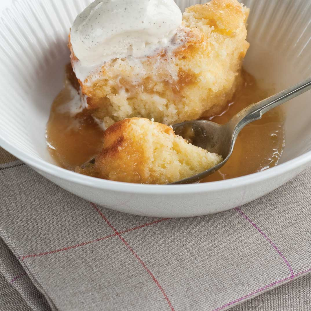 Gluten-Free Maple Pudding Cake