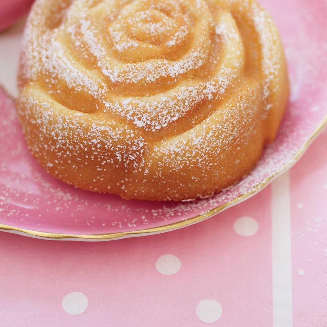 Lavender Rose Cakes