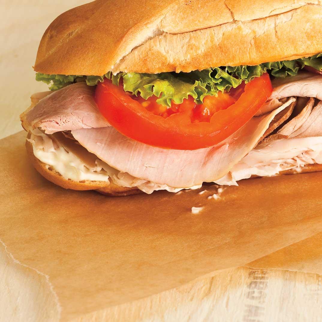 Hearty Meat Sandwich