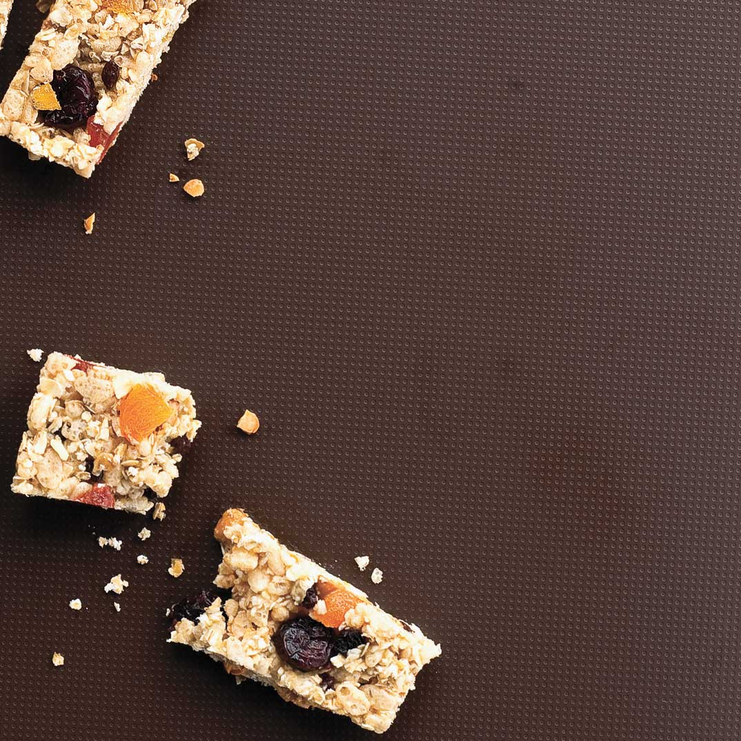 Barres tendres aux Rice Krispies