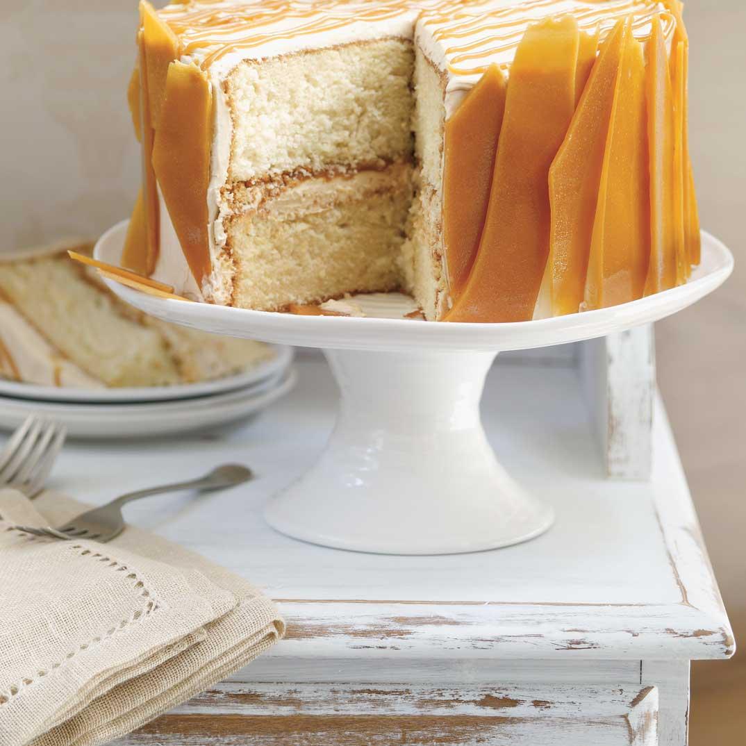 Triple Caramel Cake