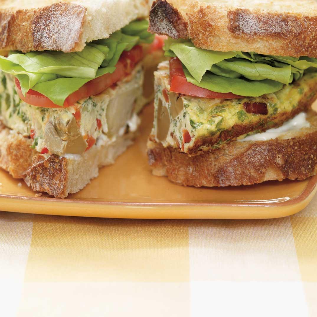Frittata Sandwich