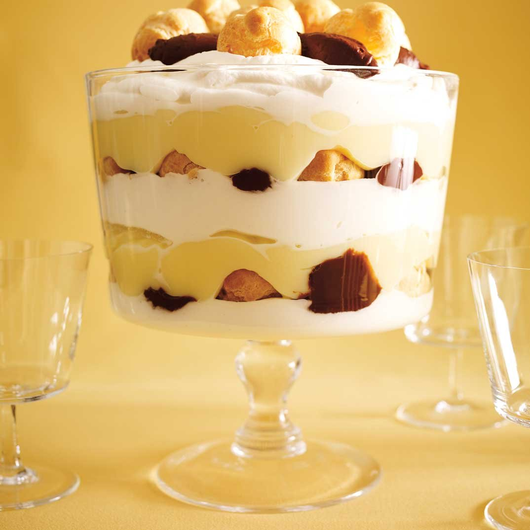 Chocolate Profiterole Trifle