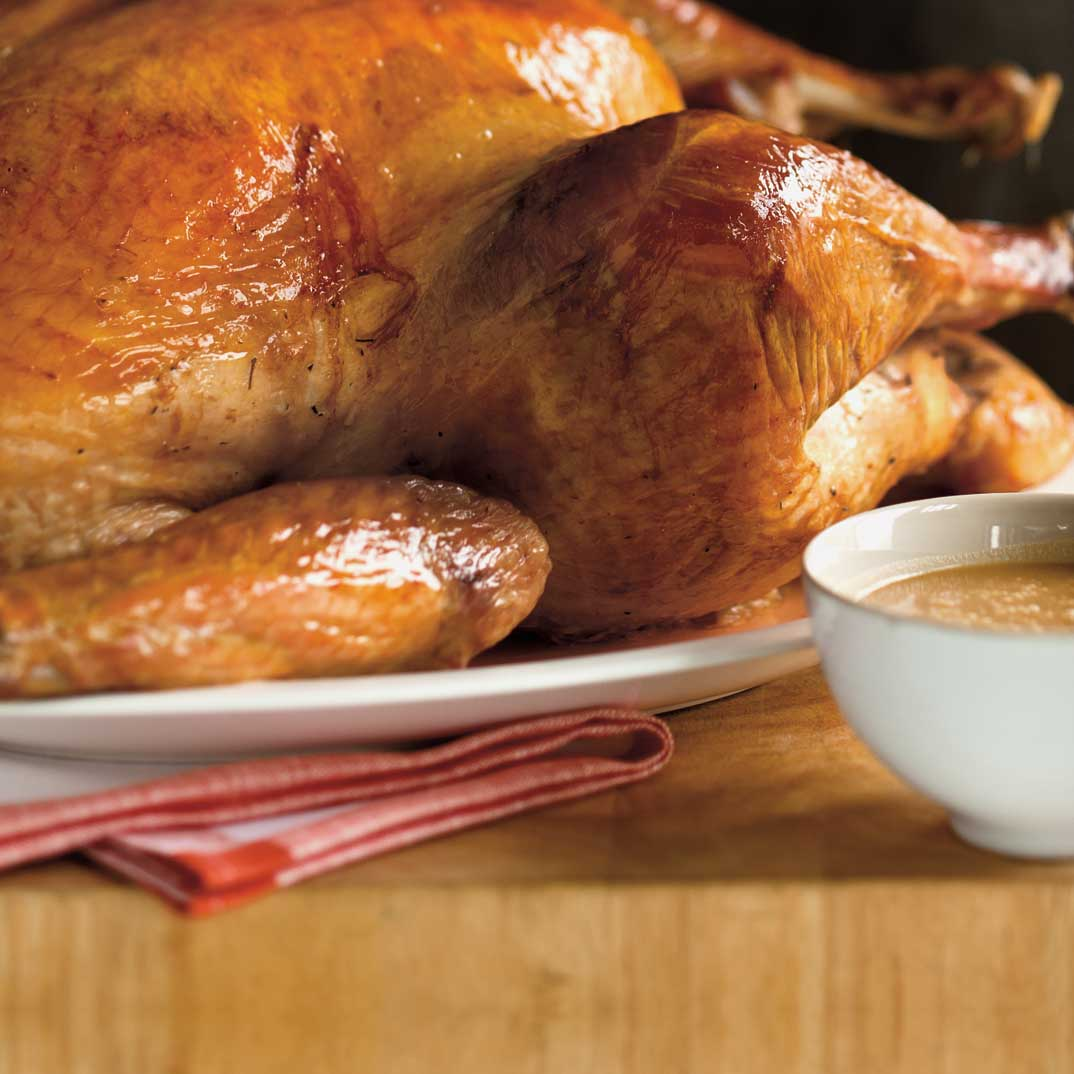 Salt-Rubbed Roasted Turkey