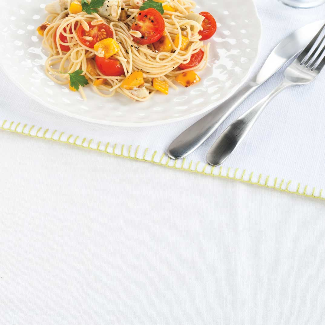Fresh Tomato and Artichoke Spaghetti