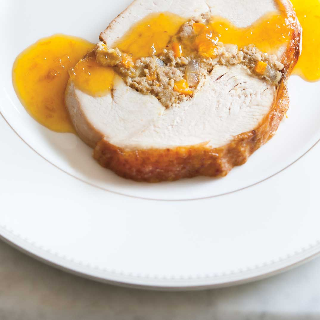 Turkey Roast with Clementines
