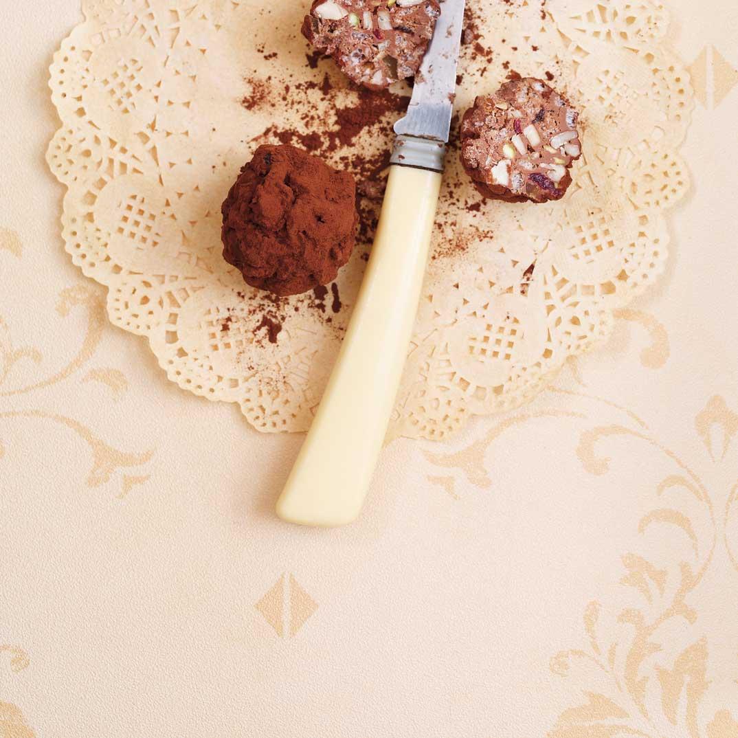 Boulettes croustillantes au chocolat