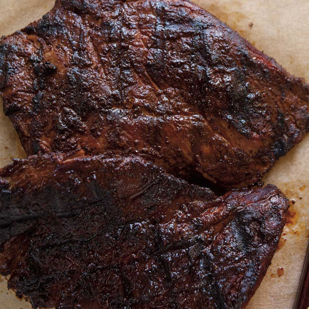 Spice and Cocoa Rubbed Flap Steak