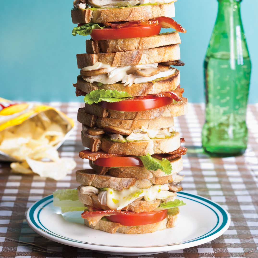 Club Sandwich Everest