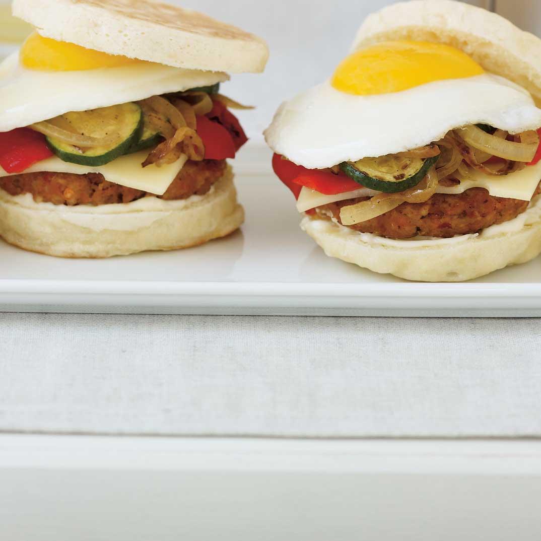 Sandwich déjeuner à la saucisse maison